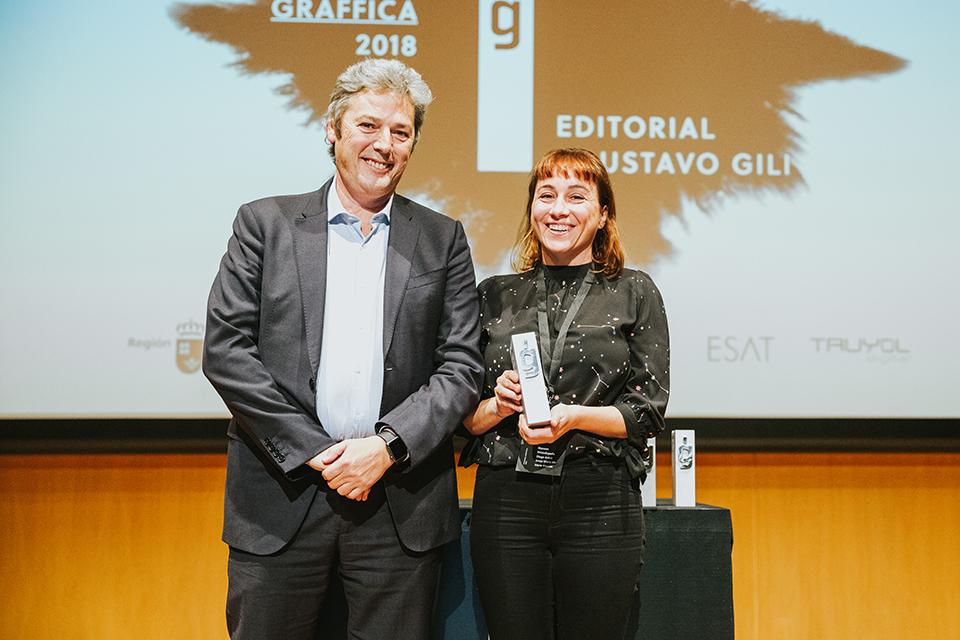premios graffica 2018 Editorial Gustavo Gili Maria Serrano