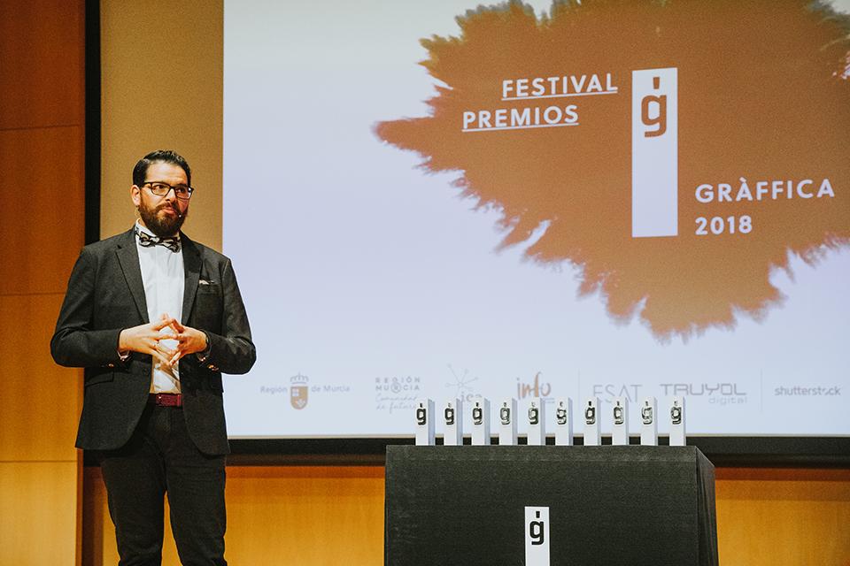 premios graffica 2018 presentador Javi