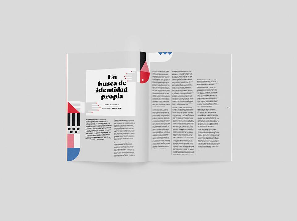 revista graffica 12 no clients despiece en busca de identidad