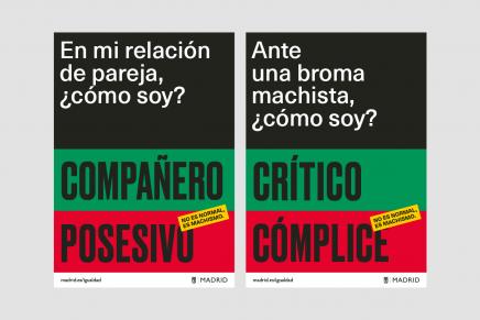 Yinsen viste a Madrid con sus campañas gráficas de concienciación