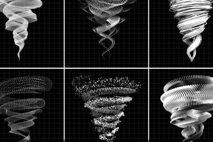 La expresión gráfica del movimiento vuelve a ser protagonista en una identidad visual