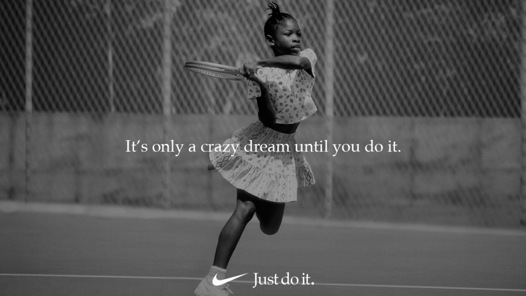 Nike y Serena Williams sueñan crazier en los Oscars
