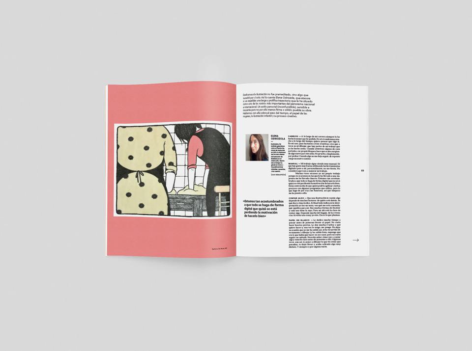 revista graffica 13 mujeres elena odriozola mockup1 uno