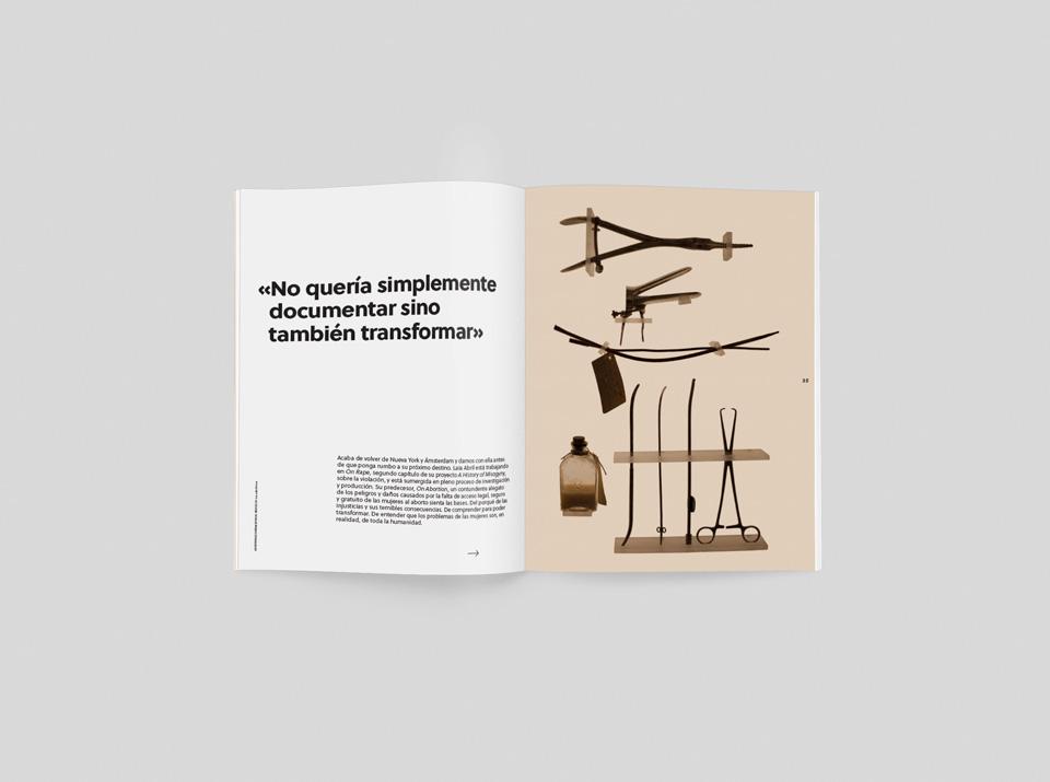 Laia Abril: «El denominador común de mi trabajo son los temas más invisibilizados»