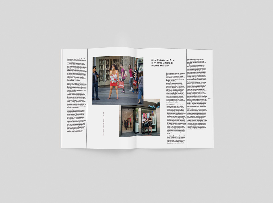 revista graffica 13 mujeres yolanda dominguez mockup2 dos