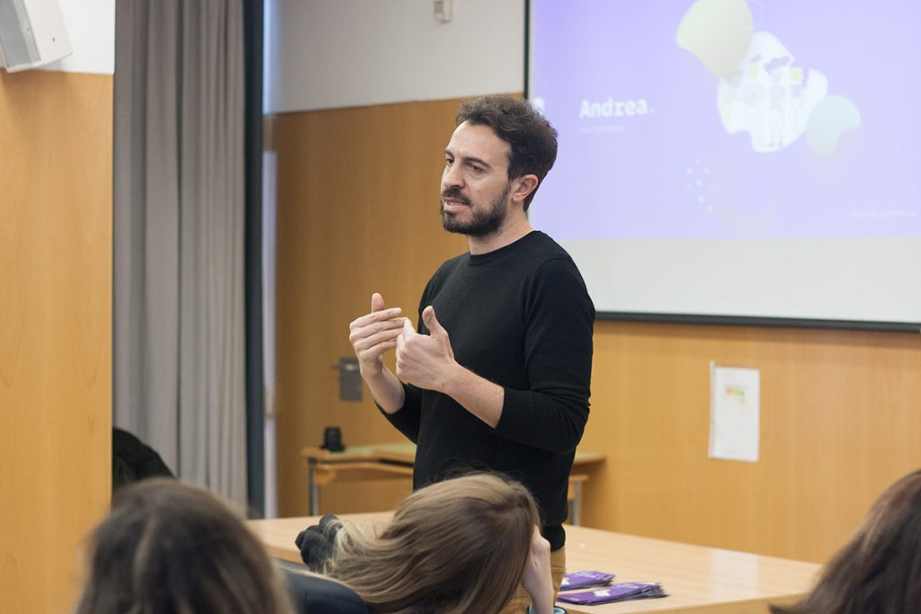 Andrea, la app para combatir el acoso escolar diseñada por Nectar Estudio