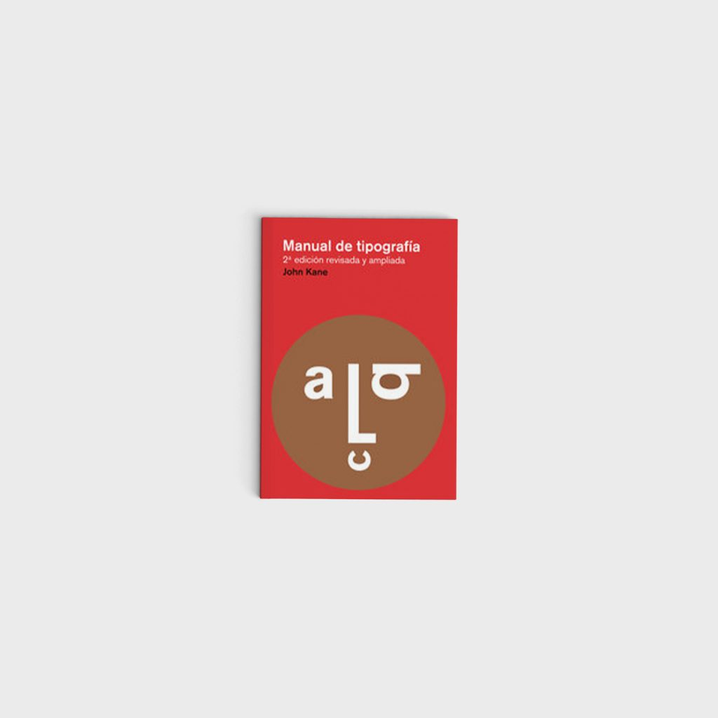Libro Manual de tipografía, de John Kane - Gràffica