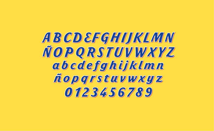 Tipografía completa