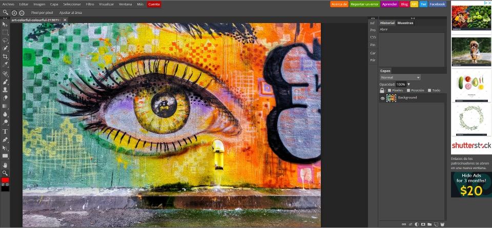 Photopea: una herramienta gratuita para edición fotográfica