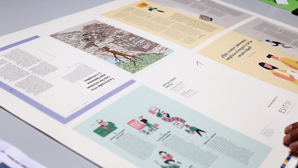 Logui, la imprenta de alta calidad en la que hemos impreso Gràffica. ¡Toda una revolución!