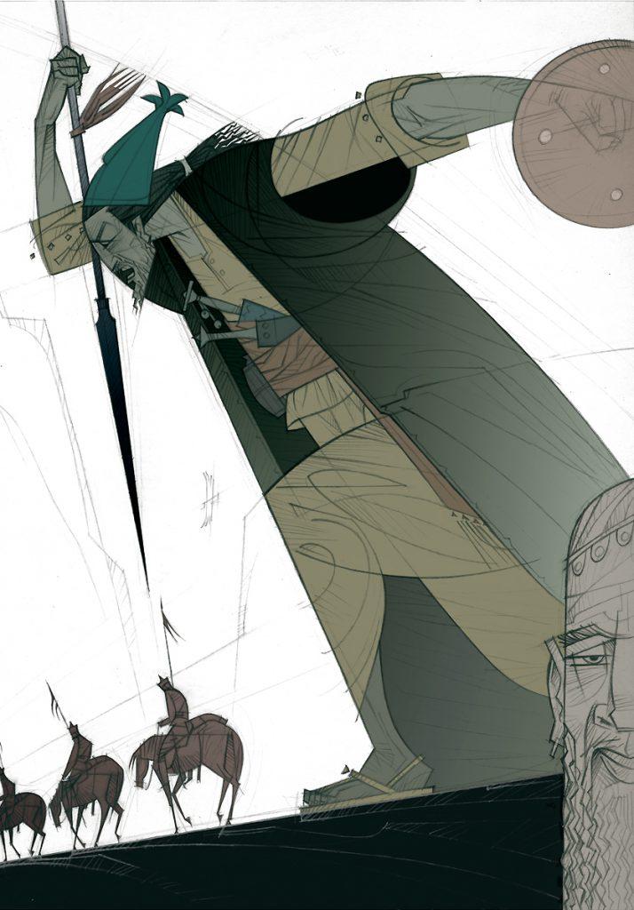 Ilustración de Paco Giménez, Premio Nacional de Ilustración 2019