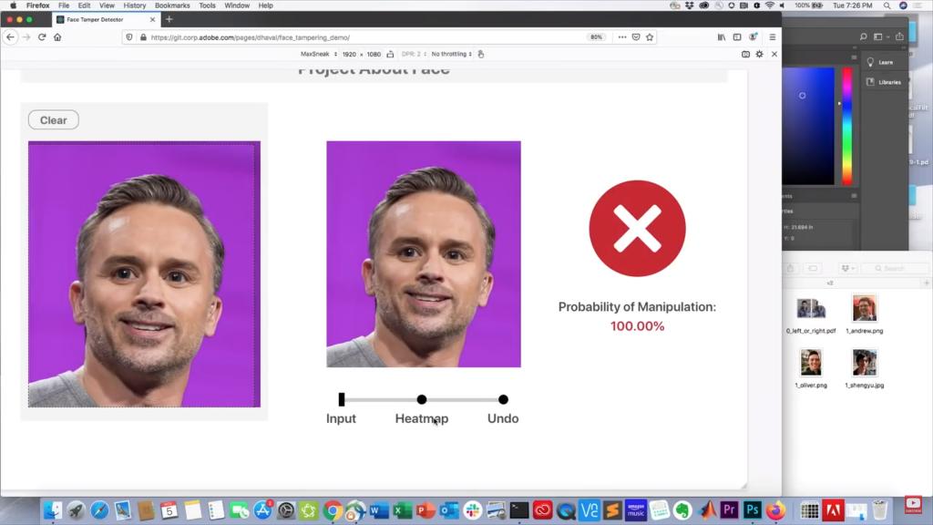 Project About Face te revela qué fotos están retocadas y cuáles no