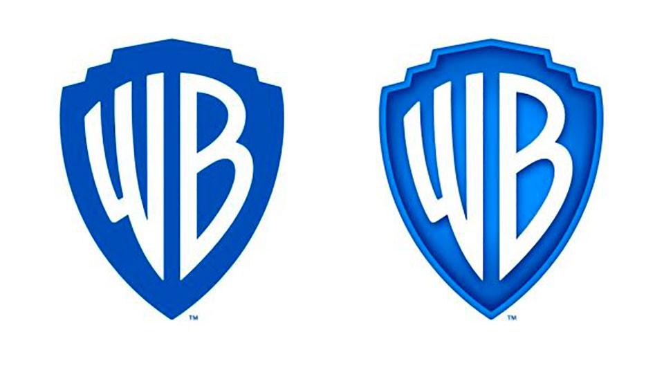 Este es el nuevo rediseño del logo de Warner Bross creado por Pentagram - dos versiones