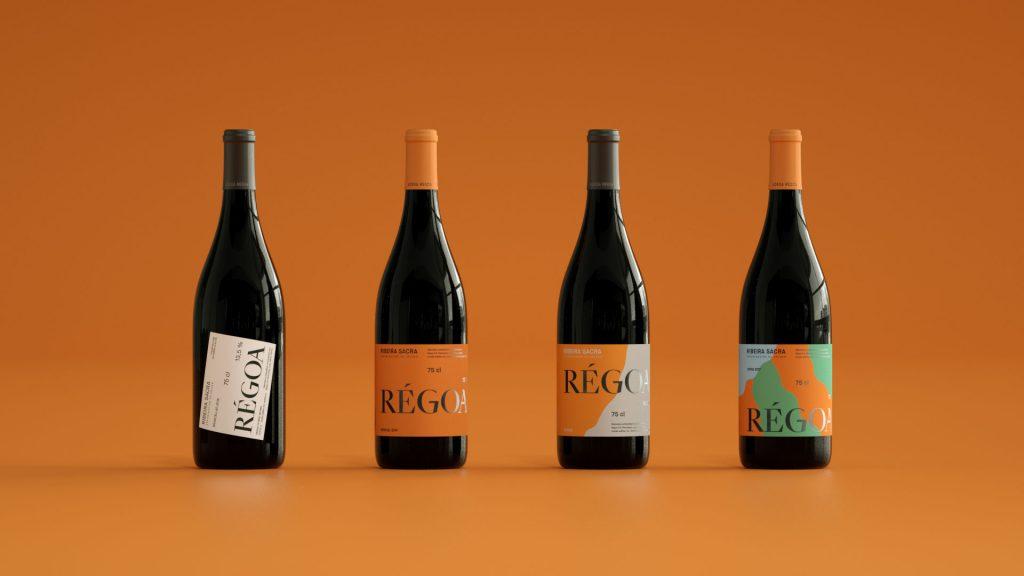 Relajaelcoco se encarga del rebranding de esta marca utilizando para ello la geografía y topografía. Exposición de botellas.
