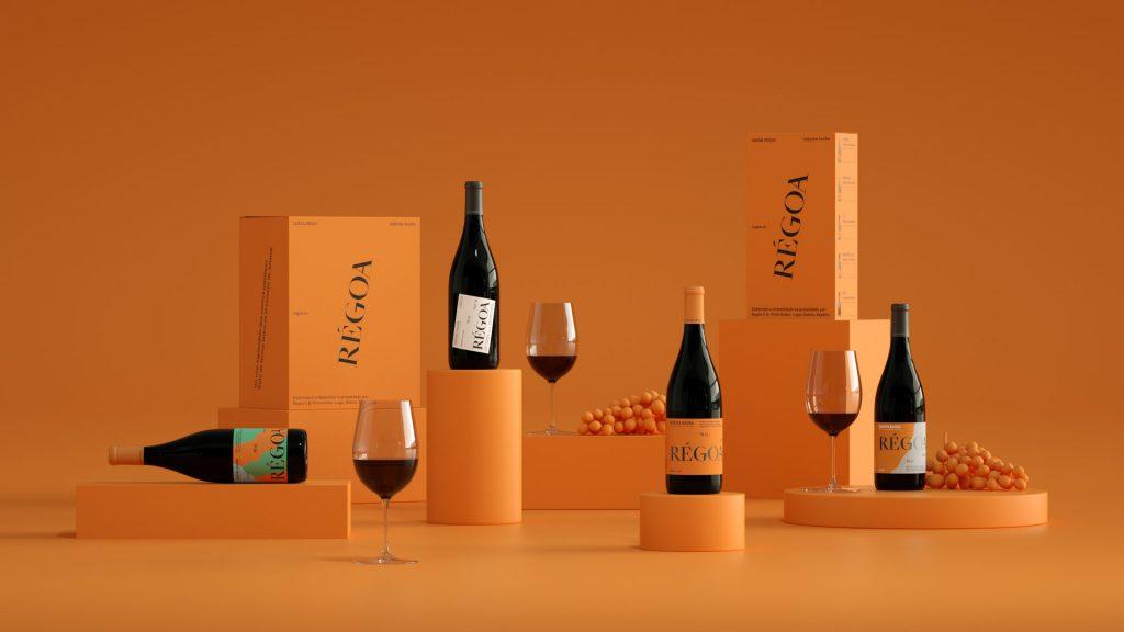 Bodegón de botellas del rebranding firmado por Relajaelcoco.