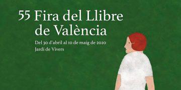 Así es el cartel de la 55ª Feria del Libro de València, por Elena Odriozola