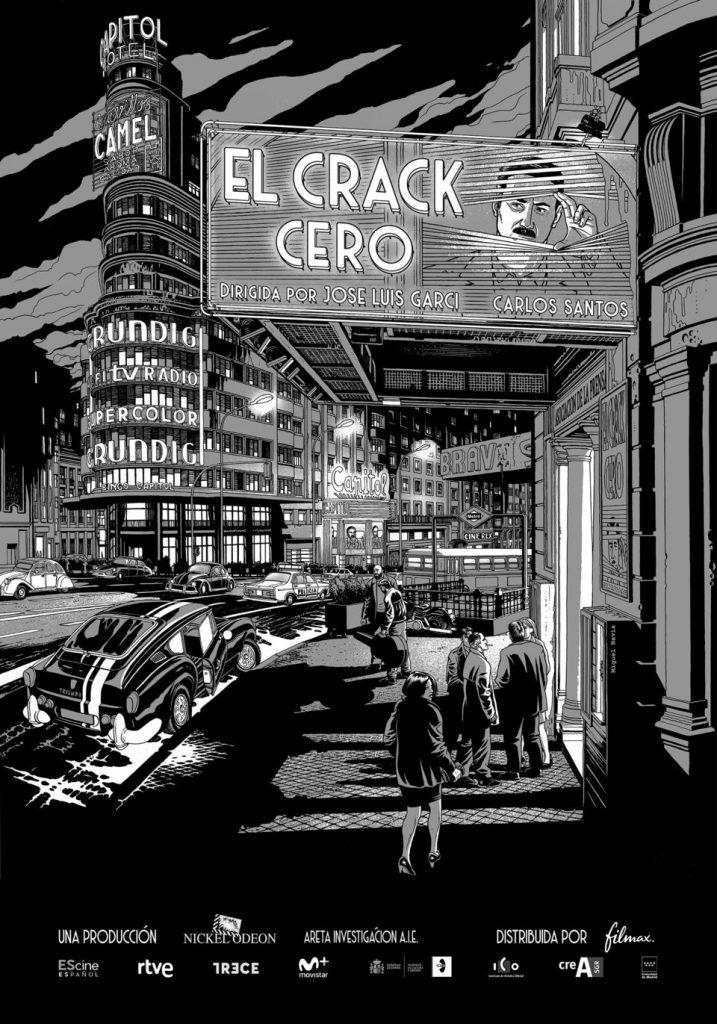 'El crack cero', ganador del Premio Feroz FlixOlé al Mejor Cartel  en los Premios Feroz 2020