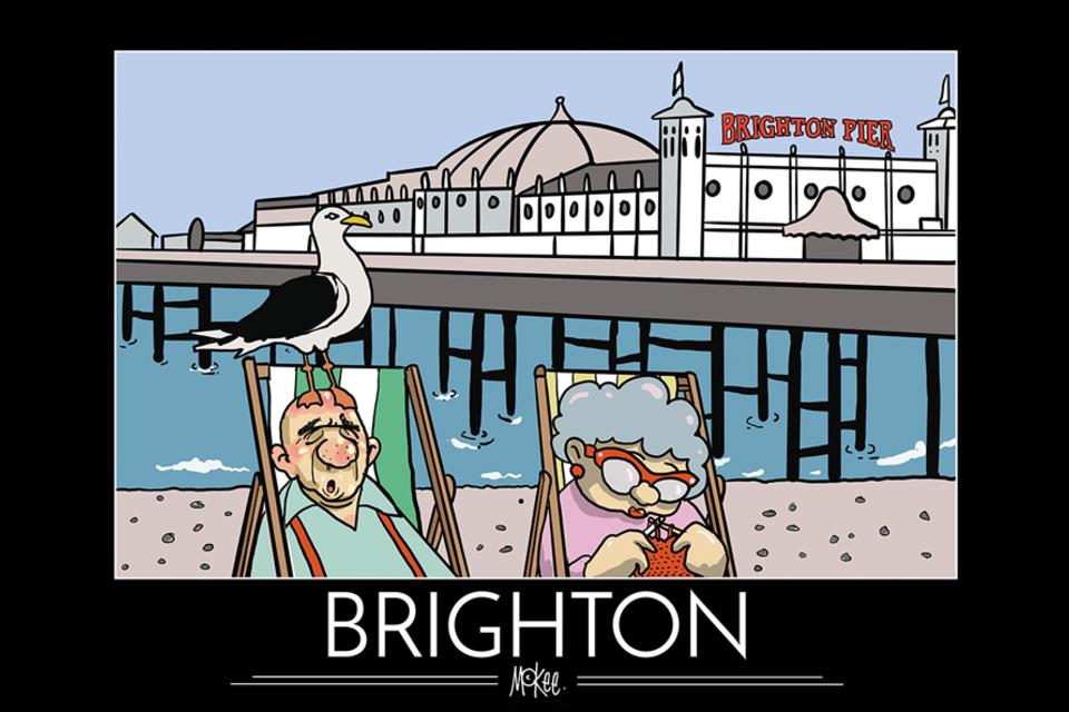 Brighton, por Pete McKee
