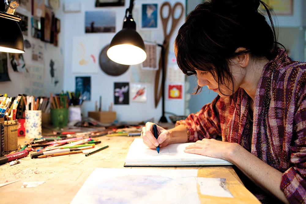 El FLIC Festival 2020 homenajea a los personajes singulares de la literatura ilustrada. En la foto, Beatrice Alemagna.