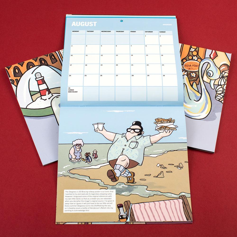 Calendario ilustrado por Pete McKee