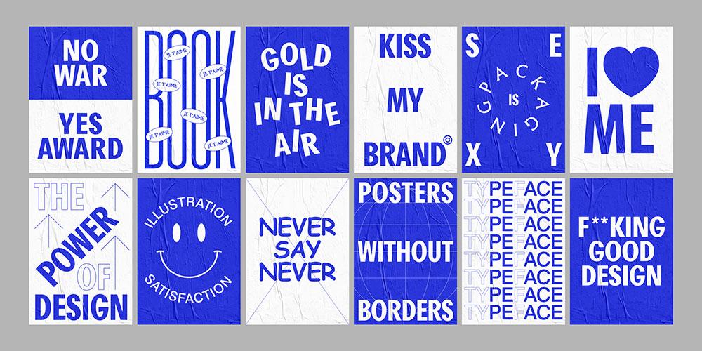 Yinsen firma la campaña gráfica de los European Design Awards.