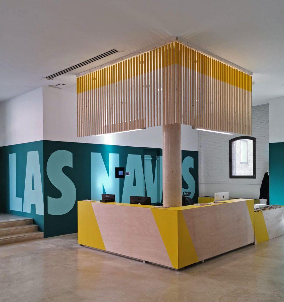 Esta es la nueva identidad corporativa de Las Naves, diseñada por Estudio Menta - diseño espacio