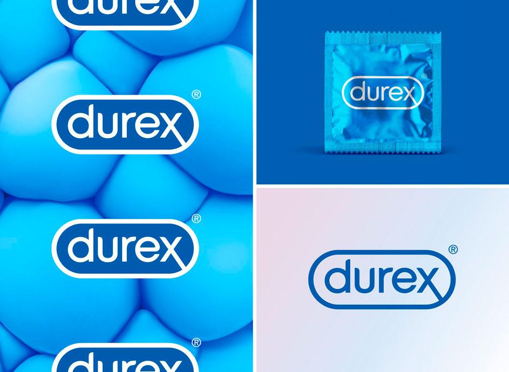 Este es el nuevo logo de Durex diseñado por Havas London - aplicación del logo en los productos de Durex