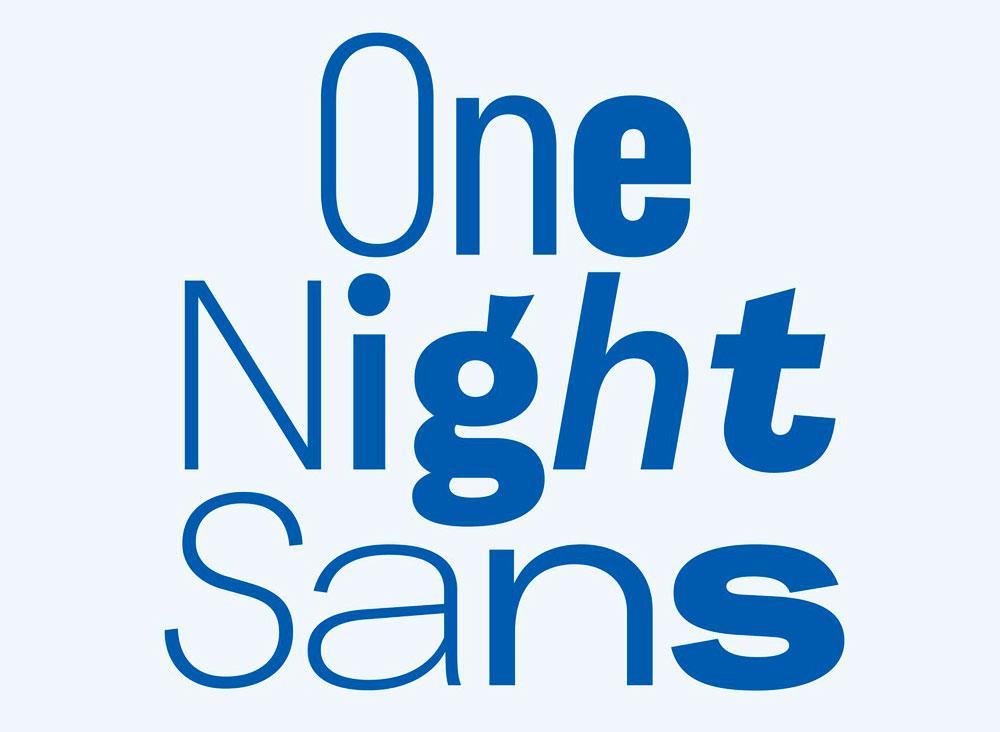 Este es el nuevo logo de Durex diseñado por Havas London - nueva tipografía de Durex, la One Night Sans