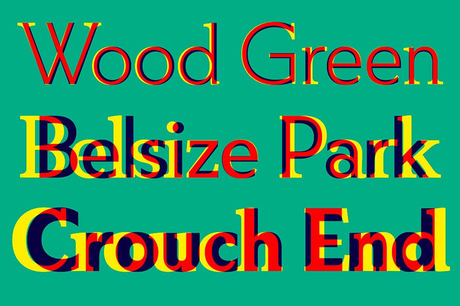 ¿Puede ser una tipografía sans serif y serif a la vez? El caso de FS Split Sans - comparativa superpuesta
