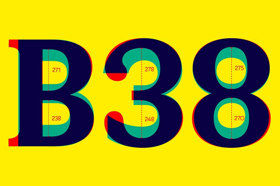 ¿Puede ser una tipografía sans serif y serif a la vez? El caso de FS Split Sans - contraformas