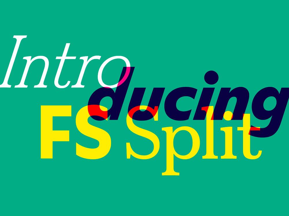 ¿Puede ser una tipografía sans serif y serif a la vez? El caso de FS Split Sans - imagen destacada