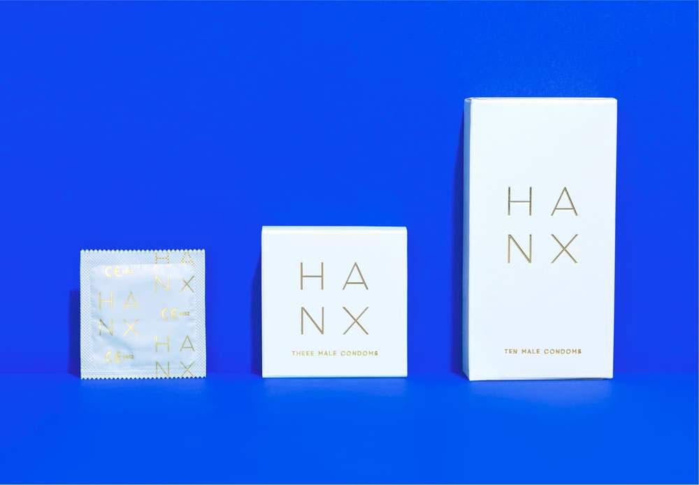 Reinventar la salud femenina mediante el diseño. Condones de la marca HANX.