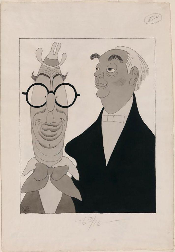 Dibujo de Ralph Barton de 1930 https://www.si.edu/object/npg_NPG.2003.27