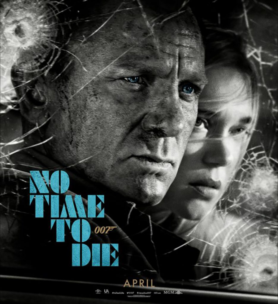 No time to die cartel oficial.