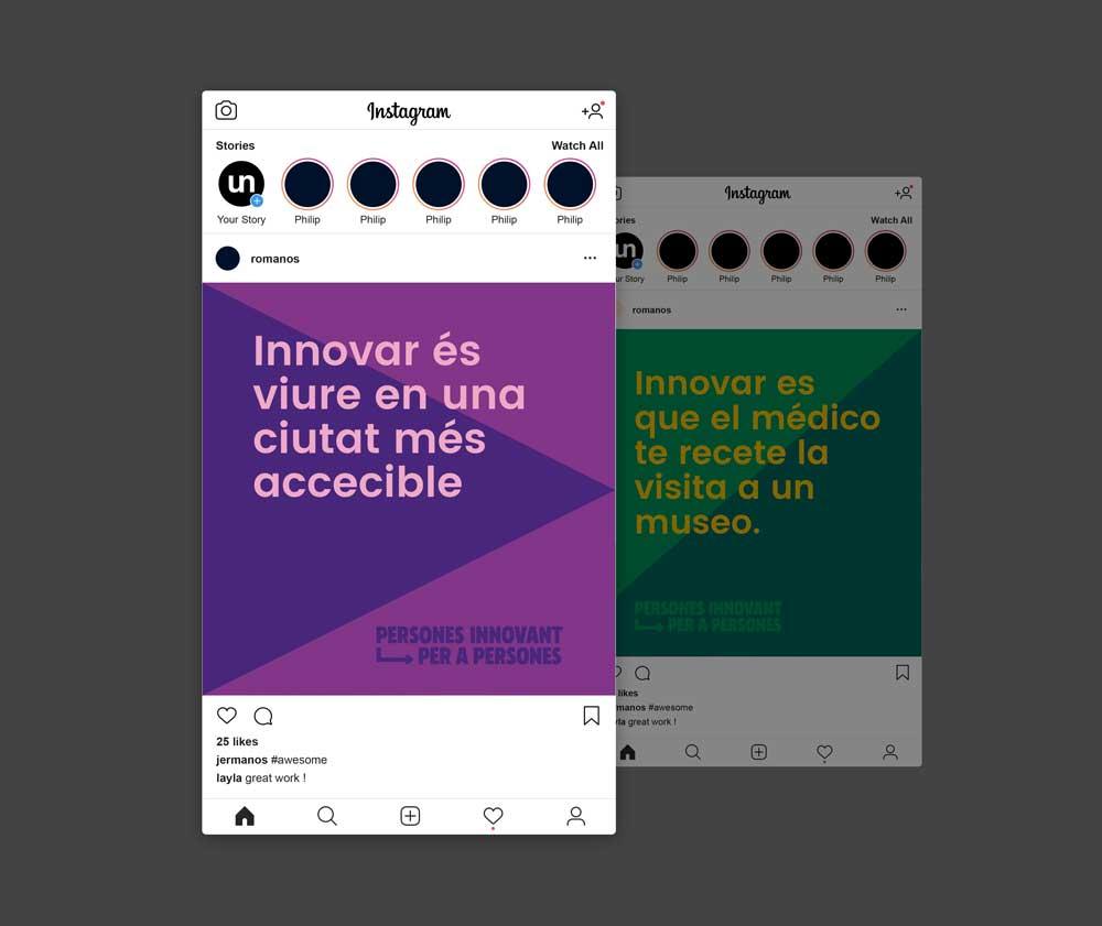 Esta es la nueva identidad corporativa de Las Naves, diseñada por Estudio Menta - Instagram