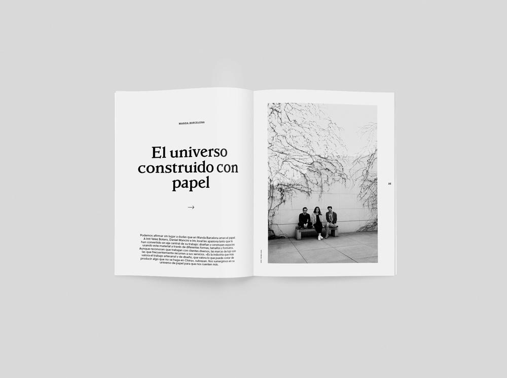El universo de papel de Wanda Barcelona