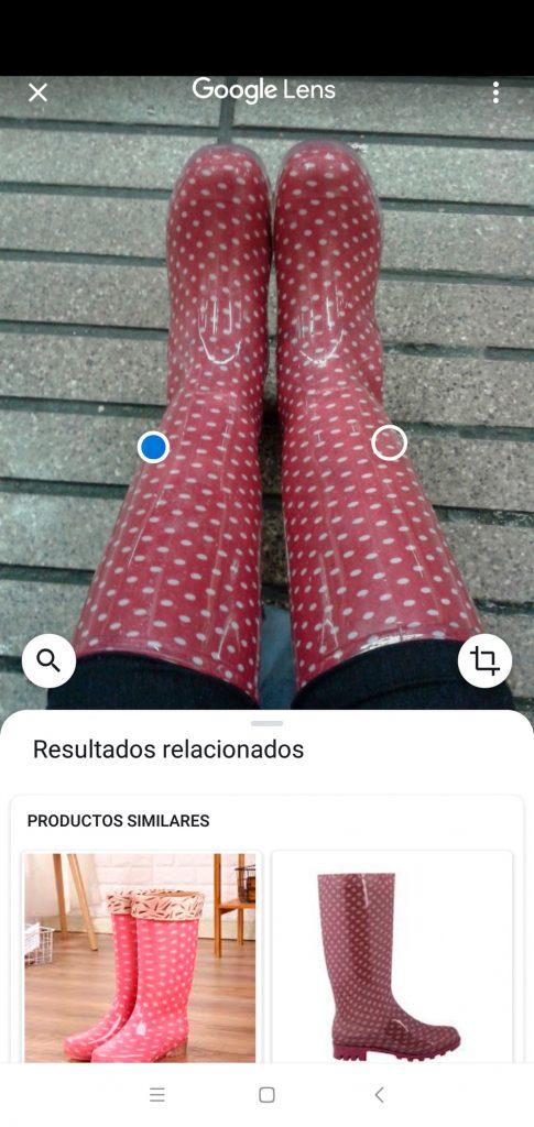 Los trucos de Google Photos que te ayudarán en tus fotografías del día a día - buscar productos en internet a través de una foto
