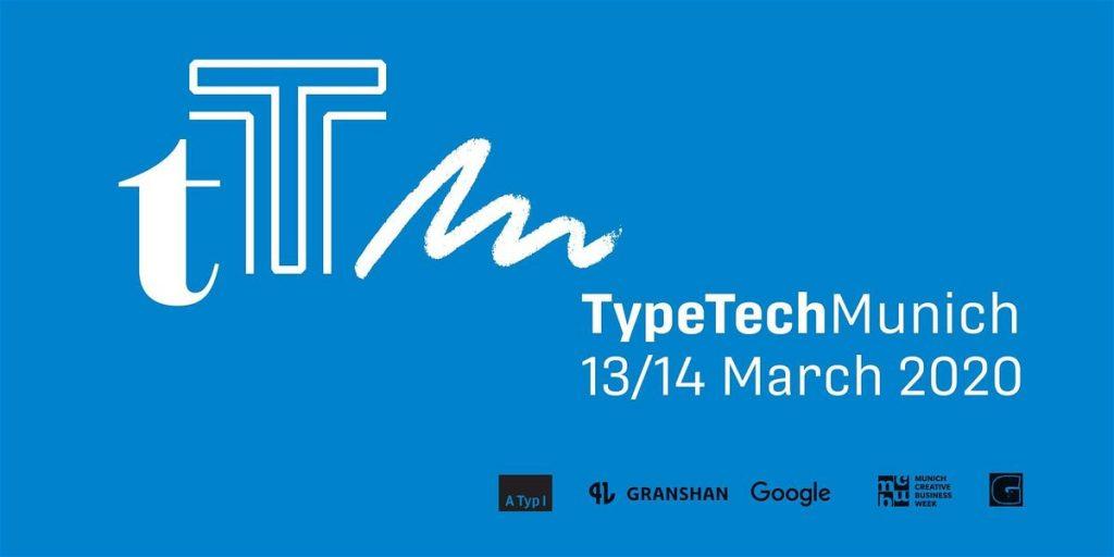 TypeTech MeetUp, el evento de tipografía en Munich que tendrá lugar durante la Munich Creative Business Week (MCBW) 2020