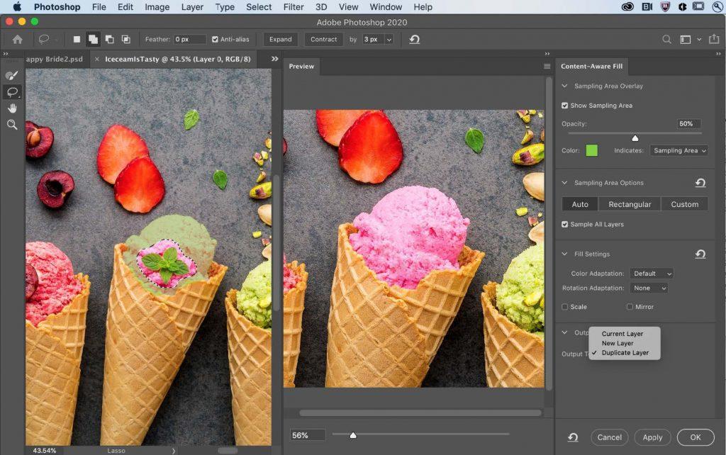 Estas son las nuevas actualizaciones de Photoshop para celebrar su 30 aniversario: Mejoras en el espacio de trabajo de relleno según el contenido
