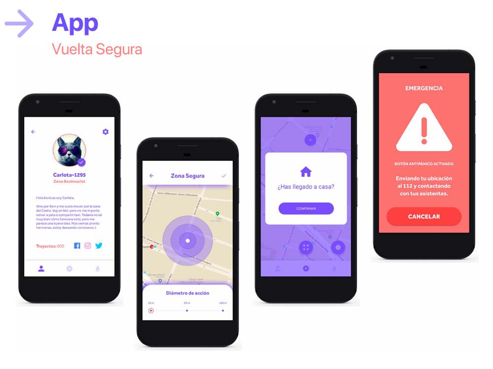 Syster, la app contra agresiones sexuales, finalista en los Premios Acento G 2019 - vuelta segura