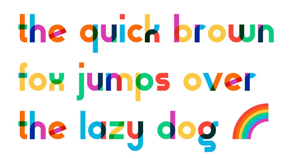 5 tipografías no convencionales gratis - Gilbert