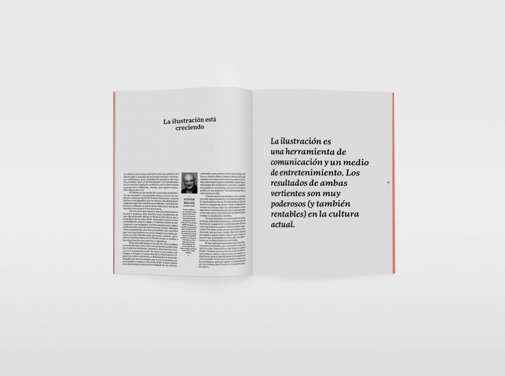 El nuevo número de la revista Gràffica, una oda a la ilustración. Steven Heller.