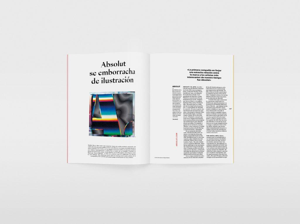 El nuevo número de la revista Gràffica, una oda a la ilustración. Absolut.