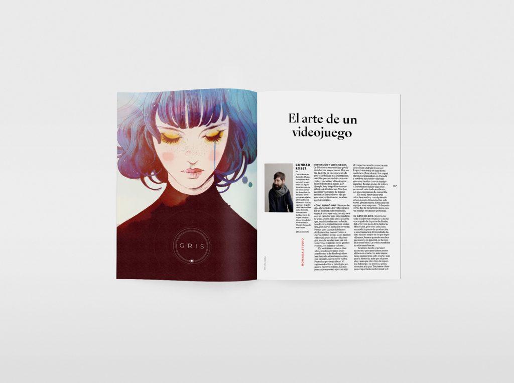 El nuevo número de la revista Gràffica, una oda a la ilustración. Conrad Roset.
