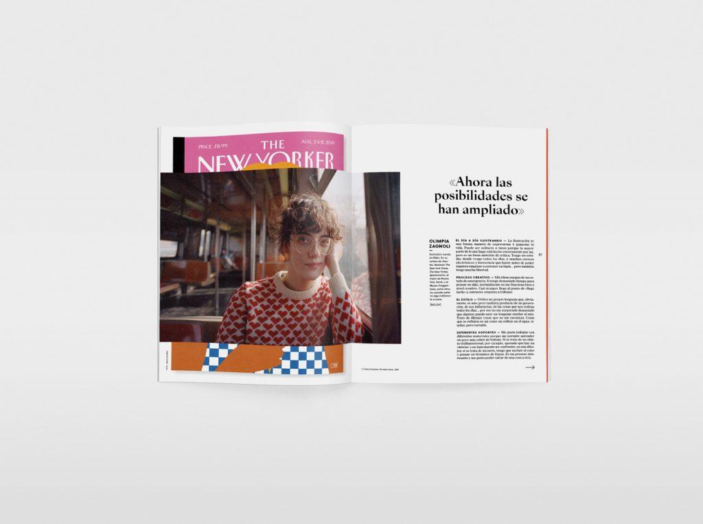 El nuevo número de la revista Gràffica, una oda a la ilustración. Olimpia Zagnoli.
