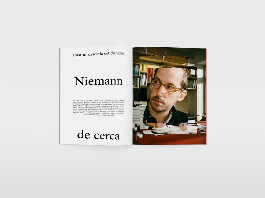 El nuevo número de la revista Gràffica, una oda a la ilustración. Christoph Niemann.
