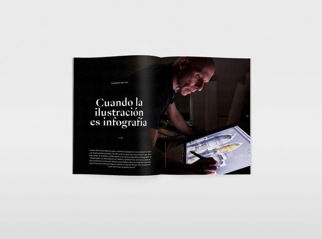 El nuevo número de la revista Gràffica, una oda a la ilustración. Fernando Baptista.