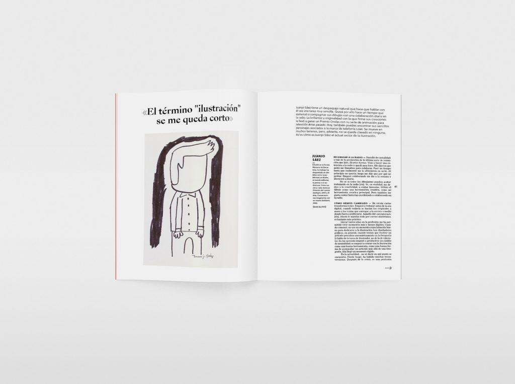 El nuevo número de la revista Gràffica, una oda a la ilustración. Juanjo Sáez.