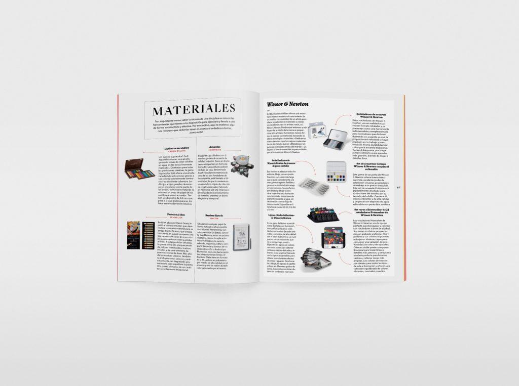 El nuevo número de la revista Gràffica, una oda a la ilustración. Materiales para ilustrar.