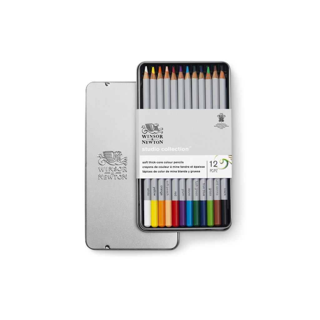 Colección de lápices de colores